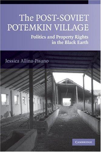 The Post-Soviet Potemkin Village