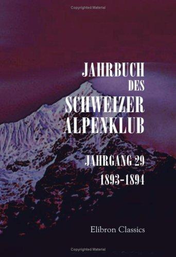 Jahrbuch des Schweizer Alpenklub