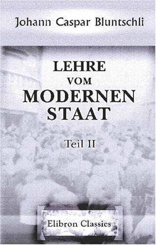Download Lehre vom modernen Staat
