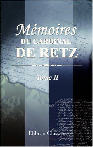Mémoires du cardinal de Retz