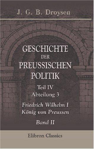 Geschichte der preussischen Politik
