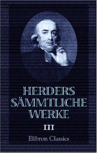 Download Herders sämmtliche Werke