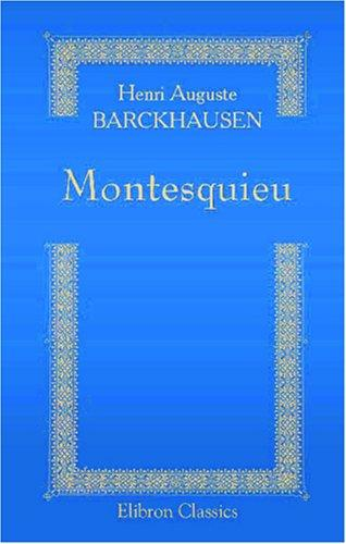 Download Montesquieu