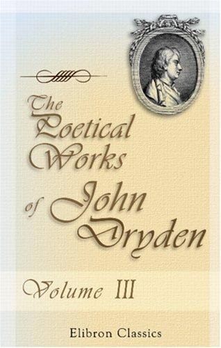Download The Poetical Works of John Dryden