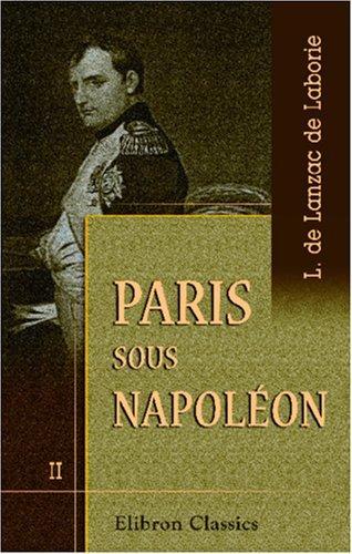 Download Paris sous Napoléon