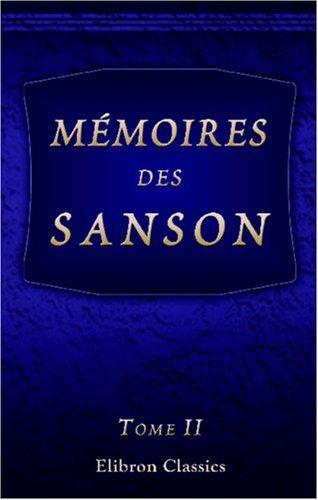 Download Mémoires des Sanson