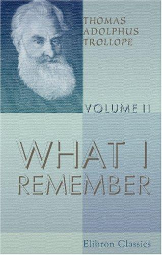 Download What I Remember