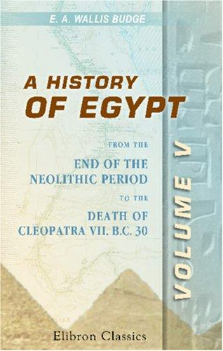 Download A History of Egypt
