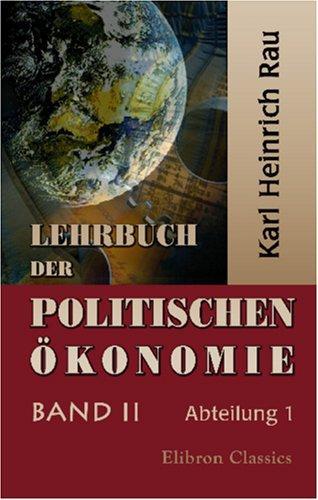 Lehrbuch der politischen Ökonomie