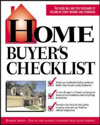 Download Home Buyer's Checklist