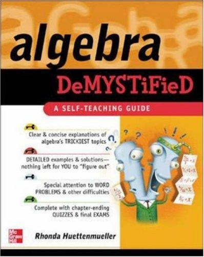 Download Algebra demystified