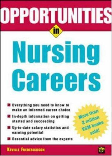 Opportunities in Nursing Careers