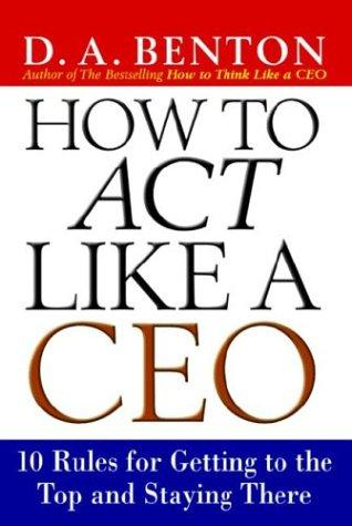 Download How to Act Like a CEO