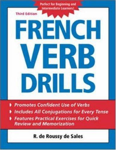 Download French verb drills