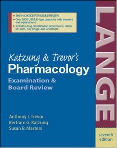 Download Katzung & Trevor's pharmacology