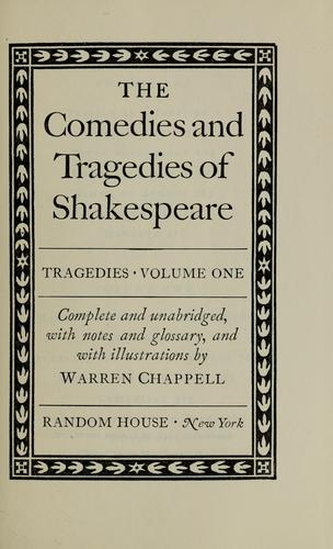 The comedies and tragedies of Shakespeare.