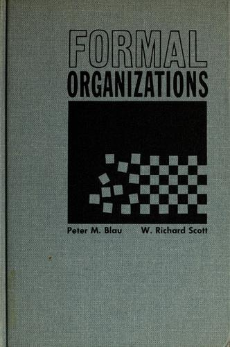 Download Formal organizations