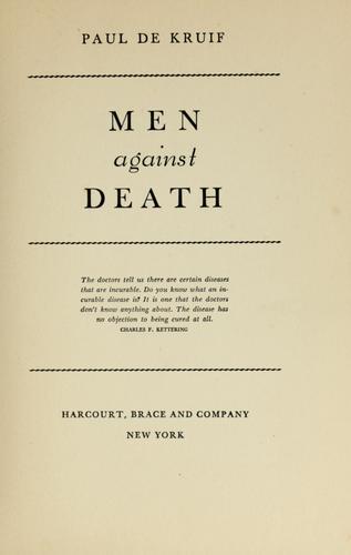 Download Men against death