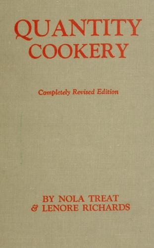 Download Quantity cookery