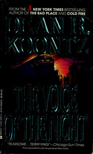 Voice of the night (The) by Dean R. Koontz
