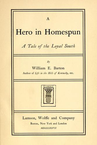 Download A hero in homespun.