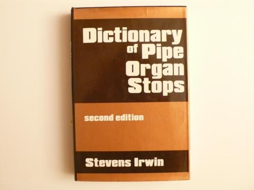 Dictionary of pipe organ stops