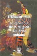 La africanía de la música folklórica de Cuba
