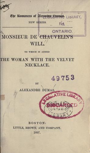 Download Monsieur de Chauvelin's will.