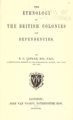 Looking for records of British colonies.