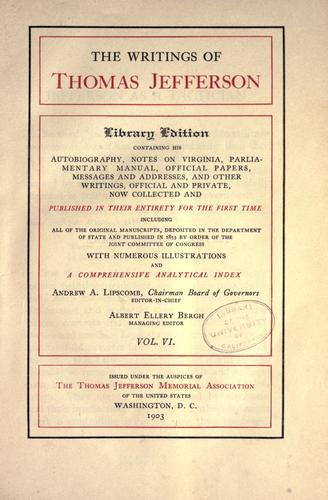 The writings of Thomas Jefferson.