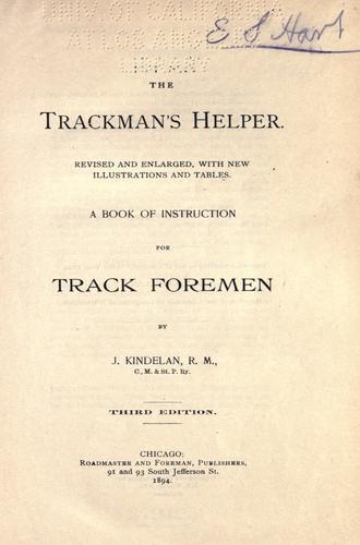 The trackman's helper.
