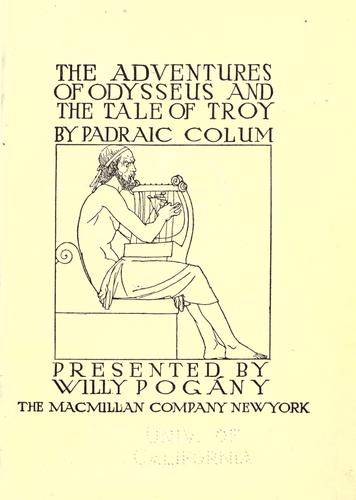 Download The adventures of Odysseus and the tale of Troy