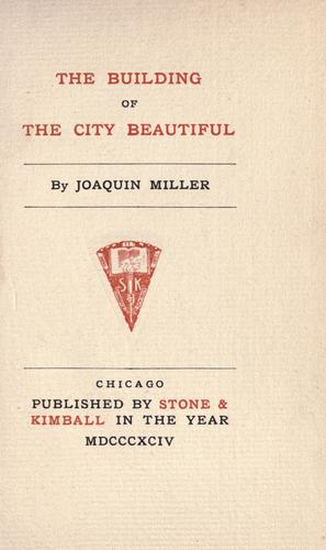 Download The  building of the city beautiful