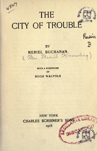 Download The city of trouble