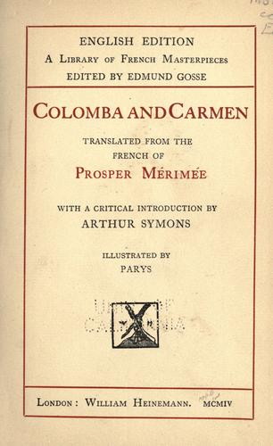 Colomba and Carmen