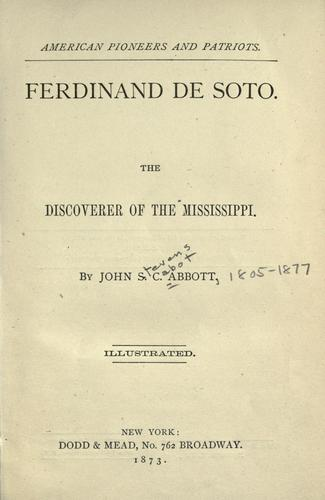 Download Ferdinand de Soto.