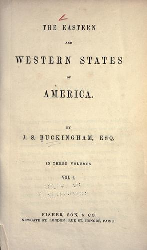 Download The eastern and western states of America.