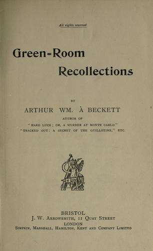 Download Green-room recollections
