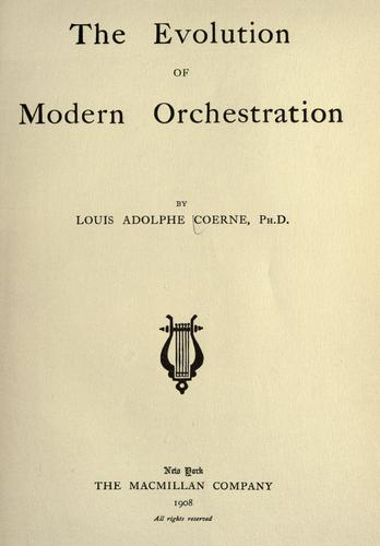 Download The evolution of modern orchestration