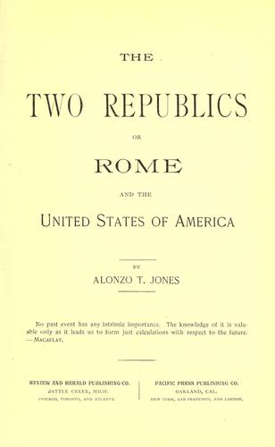 Download The two republics