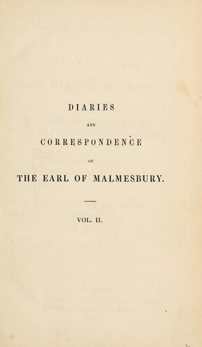 Download Diaries and correspondence of James Harris, first Earl of Malmesbury