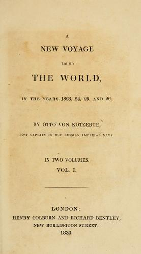 Download A  new voyage round the world in the years 1823, 24, 25, and 26.