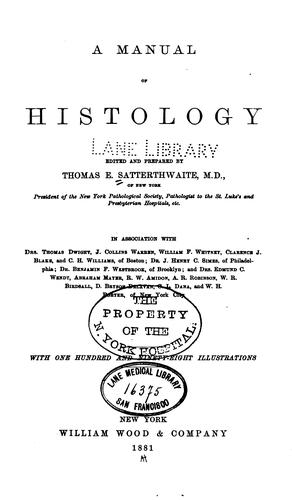 Download A manual of histology