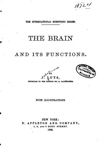 Download The brain and its functions.