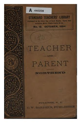 Download The teacher and the parent