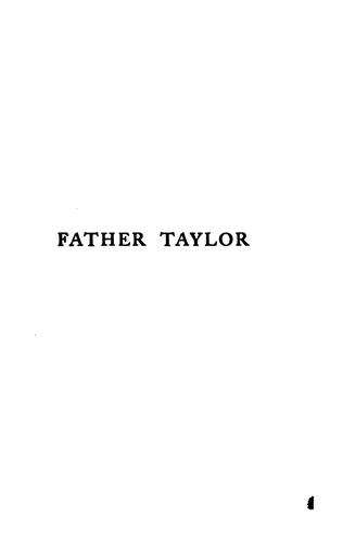 Download Father Taylor