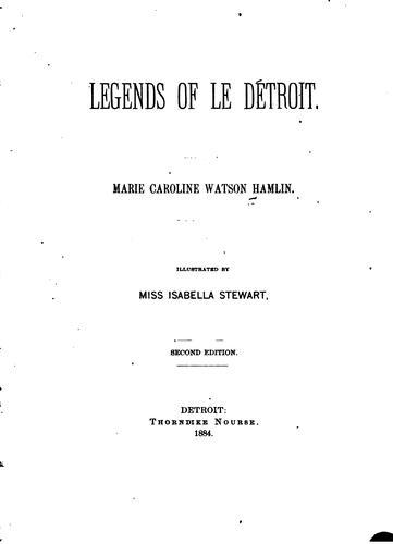 Download Legends of Le Détroit.