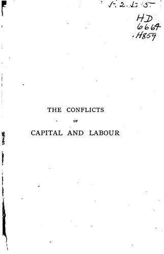Download The conflicts of capital and labour historically and economically considered