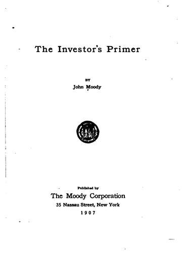 Download The investor's primer