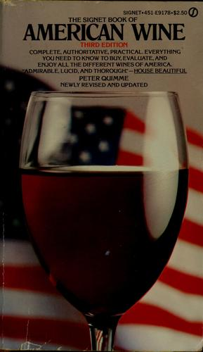 The Signet book of American wine
